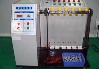 Reliability testing of wire machine