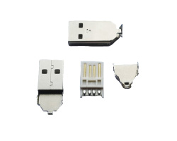 USB A connector Male  26mm